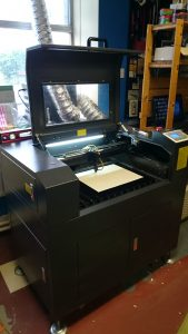 Small Machines Laser Cutter