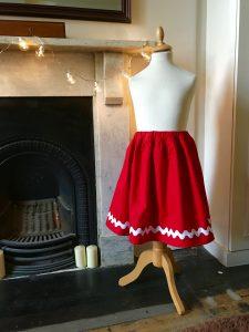 Girl's skirt autumn winter