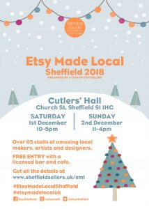 Win £25 to spend at Etsy Made Local Sheffield!